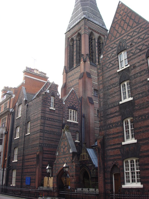 Entrance, All Saints, Margaret Street