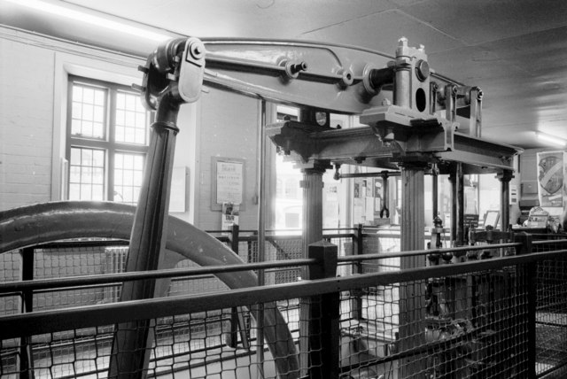 Beam engine, Taunton Castle Museum