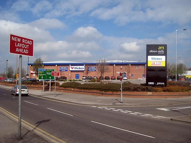 Albion Mills Retail Park