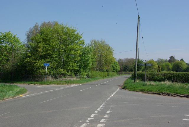 The road to Bubbenhall