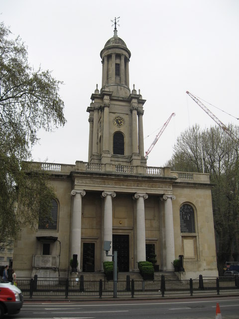 HOLY TRINITY CHURCH, Marylebone:: OS grid TQ2882 :: Geograph Britain ...