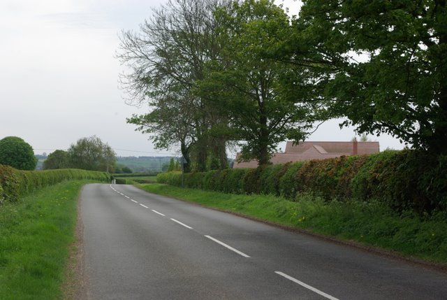 South along Weston Lane