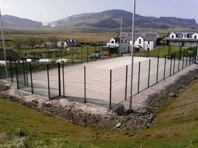 New all weather pitch at Columba 1400