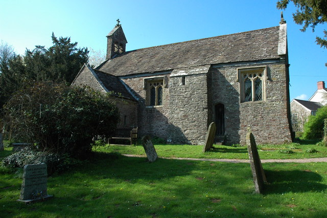 Llanllowell Church