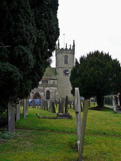 St Peter's Church, Yoxall