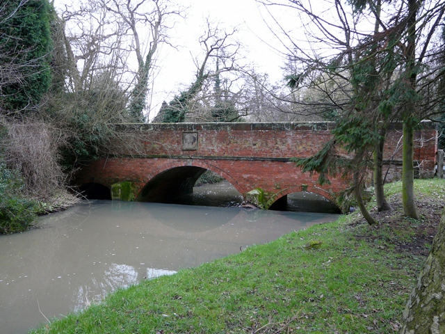 Bridge over the River Swarbourn, Yoxall