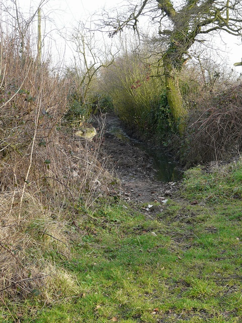 Footpath to Hamstall Ridware, Nethertown