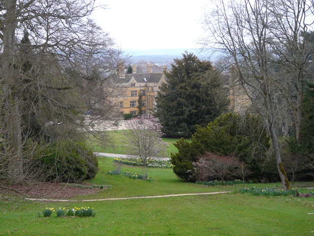 Batsford House, from the Arboretum