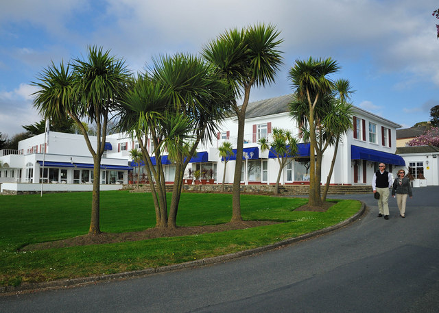 Spring At The Commodore Hotel - Instow