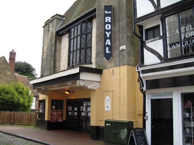 The New Royal cinema, Faversham