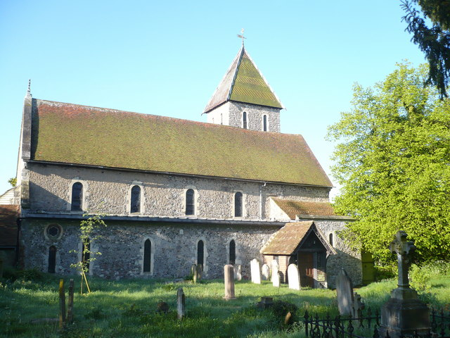 The church of St.Mary Magdalen, Davington