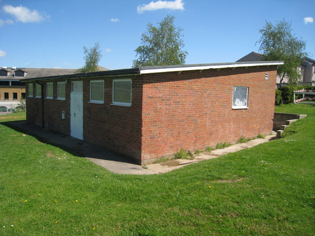 Changing Rooms at Colebrook Recreation Grounds, High Brooms