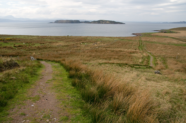 Path to Broch at Loch Poll an Dunain