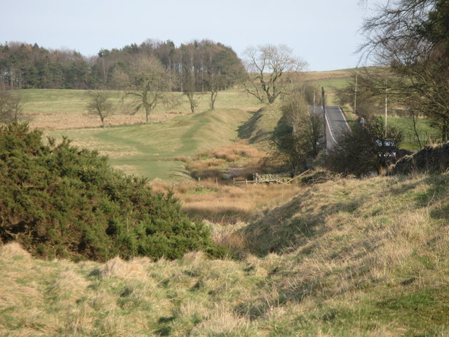 The north defensive ditch of hadrian 39 s mike quinn for Greenfield farm