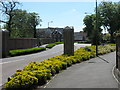 Dist:0.1km<br/>These large executive houses are built on the site of Bexley Hospital. A small building called Pinewood House (behind wall on left), is still an NHS centre. This road and entrance are on a new roundabout on A2018 Old Bexley Lane.