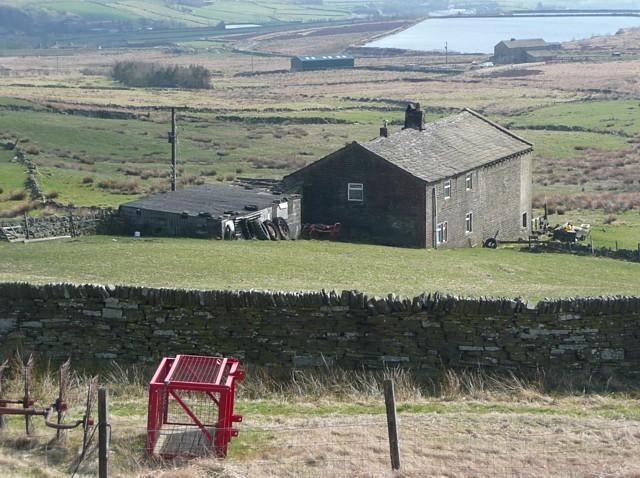Withens Head Farm, Warley