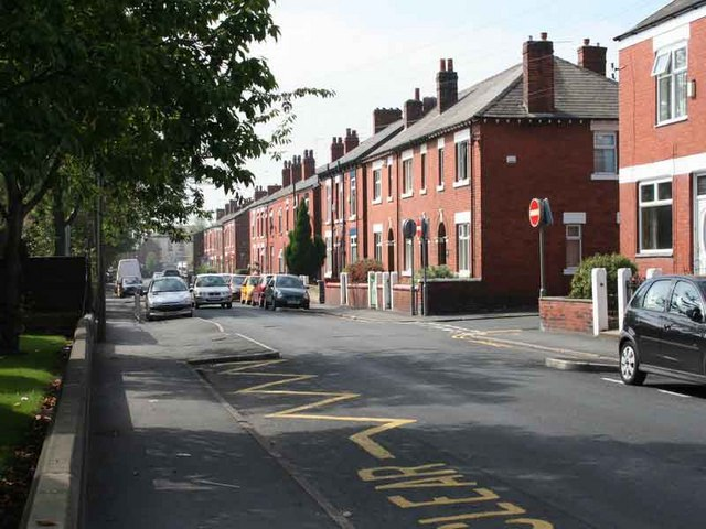 Stockport residential street
