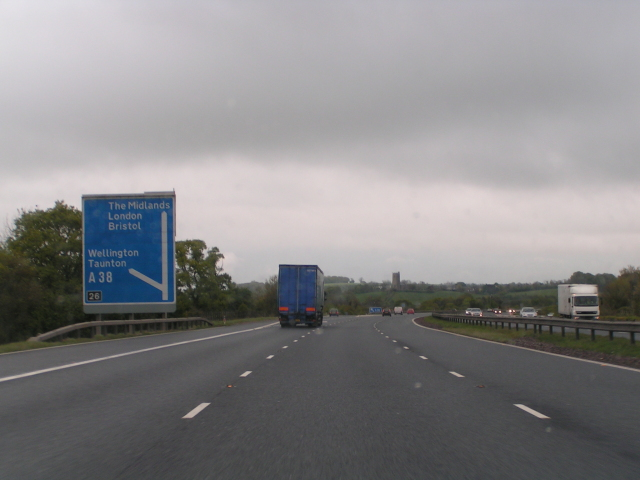 M5 Junction 26 169 Rob Purvis Geograph Britain And Ireland