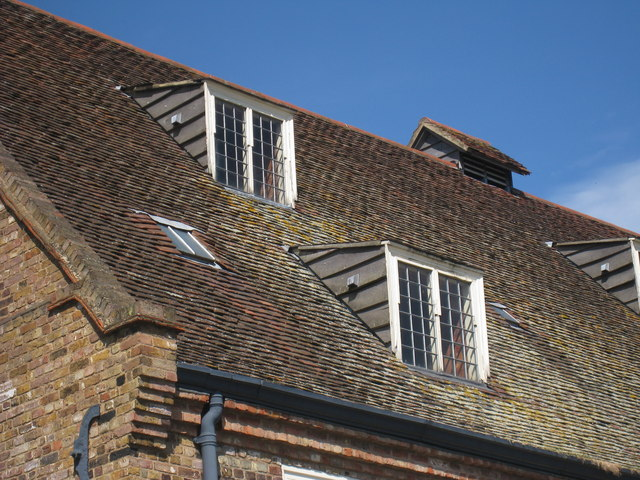 Shed dormers of House Mill
