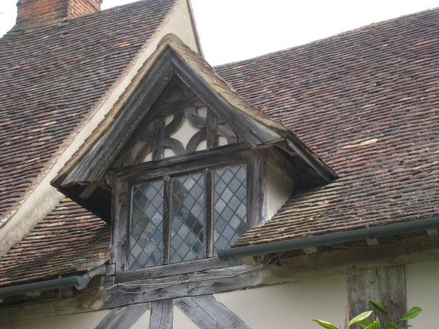 Gabled Wall dormer at Stoneacre