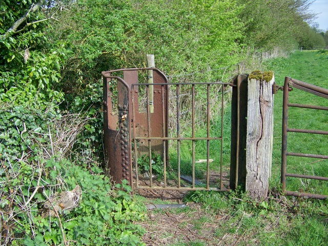 Kissing gate, Old Dilton
