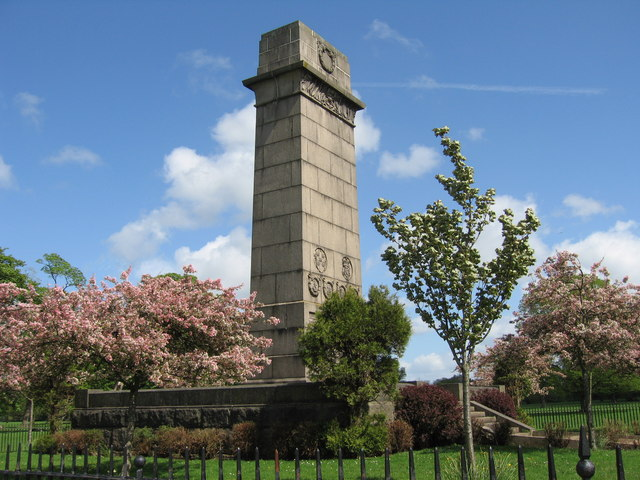 Cenotaph in Rickerby Park