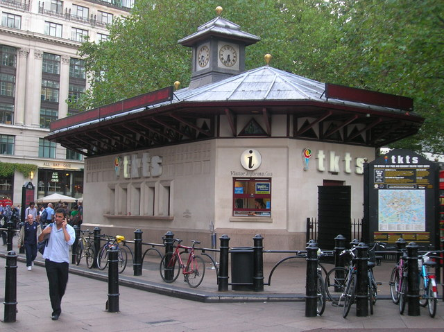 Ticket booth leicester square w1 robin sones cc by sa 2 - Leicester city ticket office contact number ...