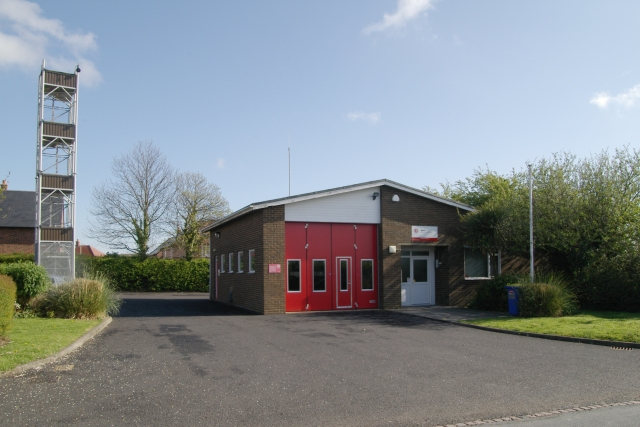 Wingham fire station