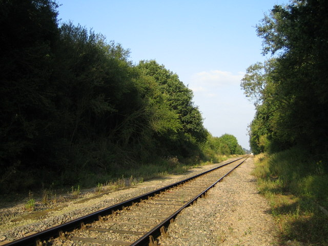 Railway line near Calvert 2