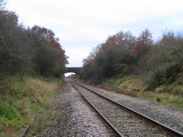 Railway line near Calvert 3