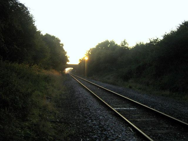 Railway line near Calvert 4