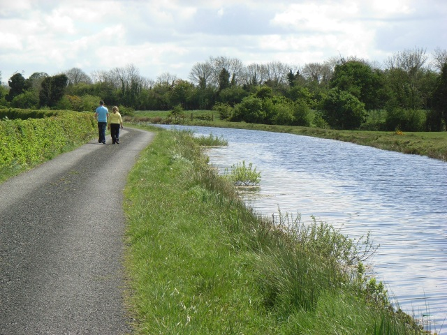 Nice day for a walk by the Royal Canal at Kilnagalliagh, Co. Meath