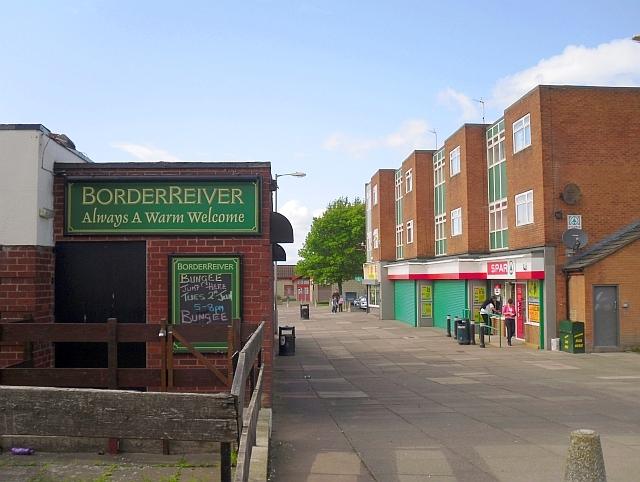 Hutton Way shops