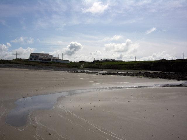 Porth Trwyn at low tide