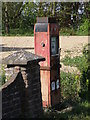 TL1057 : Roadside fuel pump, Roothams Green by Michael Trolove