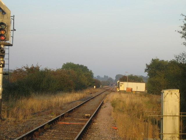 Railway line near Calvert 5