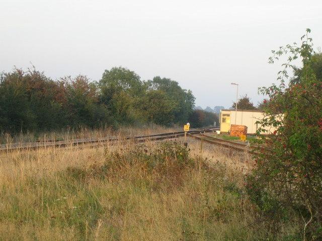 Railway junction near Calvert 2