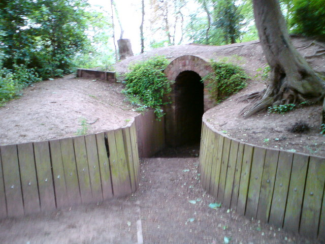Ice House Bouskell Park Blaby Colin Hoskins