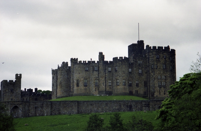 Alnwick Castle from North