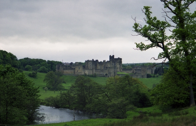 The Aln running through the grounds of Alnwick Castle