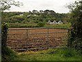 SW7941 : Gate and field, Chycowling by Derek Harper