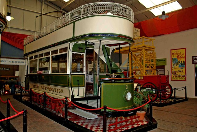 Derby tram No.1, Crich Tramway Village