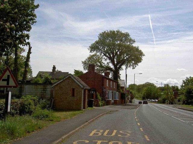 Bus shelter Little Stukeley