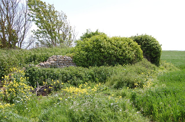 Remains of Cudlow Barn