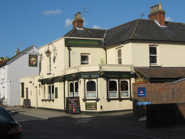 Two Brewers Public House, Hadlow