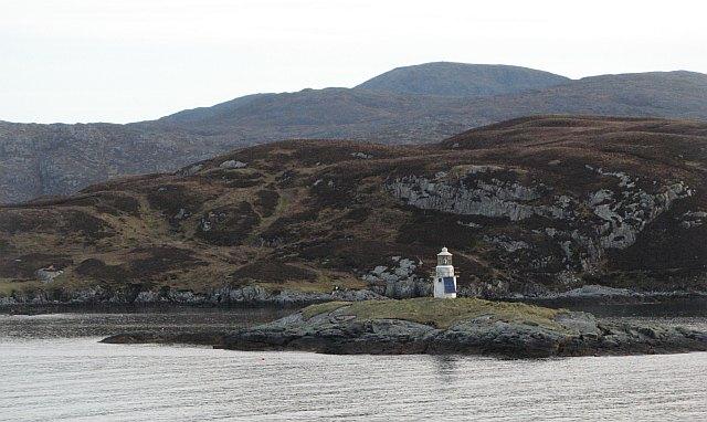 Sgeir Ghlas and Sgeotasaigh