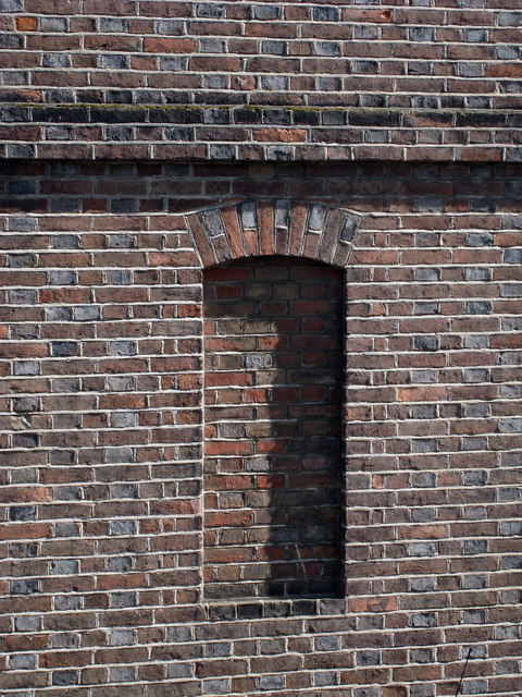 Brick Detail on High Street