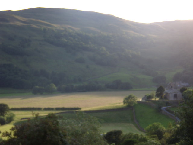 View to St Cuthbert's Church, Kentmere