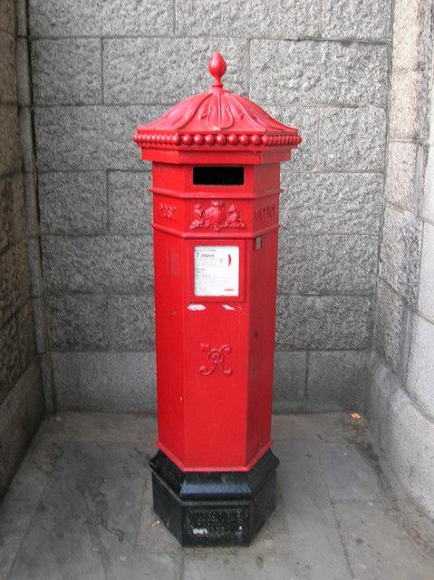 Victorian postbox under Tower Bridge SE1