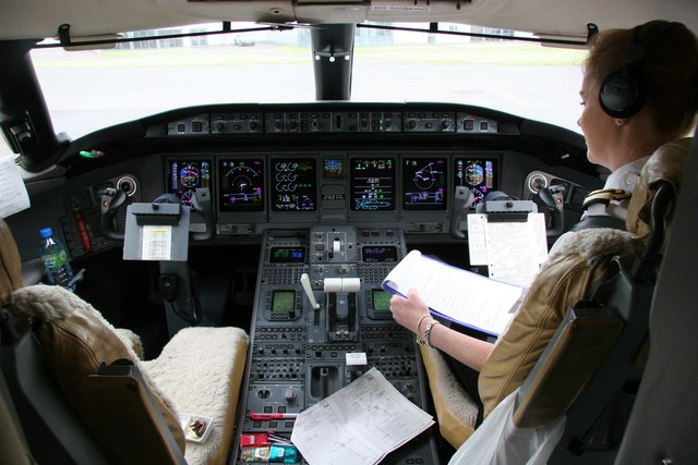 Global Express Cockpit